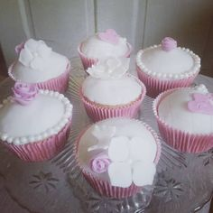 #svadobnecupcakes #weddingcupcakes #whitecupcakes #cupcakes #pinkcupcakes #monffiny #weddingdecor