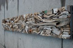 Path of the Genius - Driftwood assemblage - by Lucia Hesselink Driftwood Sculpture, Driftwood Art, Sculpture Art, Driftwood Projects, Driftwood Ideas, Art Shed, Shell Crafts, Lake View, Make And Sell