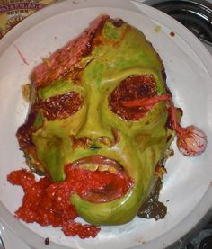 Best 25 Zombie Cakes Ideas On Pinterest Walking Dead