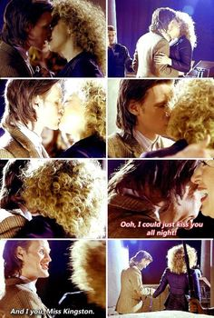 Eleven and River Song / Matt Smith and Alex Kingston (click for gif set)