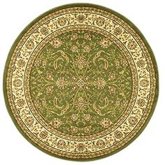 Home Decorators Collection | Safavieh Lyndhurst Collection LNH219B Traditional Oriental Sage and Ivory Round Area Rug 8 Diameter -- Click on the image for additional details. Note:It is Affiliate Link to Amazon.