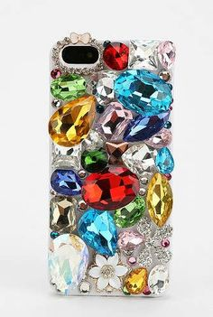 The Bejeweled iPhone 5 Case from Urban Outfitters Makes a Statement #phonecase #smartphone trendhunter.com