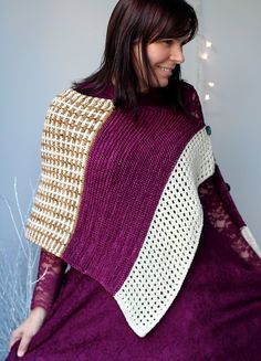 The Ice Skating Wrap pattern by Helen Stewart is a full wrap version of the final pattern for Knitvent 2014. To options included in this pattern makes it a versatile choice.
