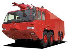 空港用12500L級化学消防車