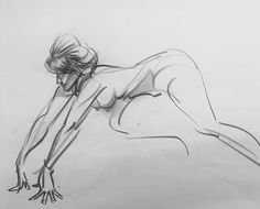 Finger support. -Norm #lifedrawing #figuredrawing #grizandnorm