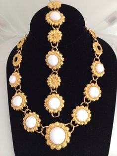 A personal favorite from my Etsy shop https://www.etsy.com/listing/232072851/trifari-tm-white-glass-haute-couture
