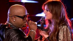 "CeeLo Green and Juliet Simms: ""Only You"" - The Voice Highlight <3 juliet"