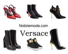 Scarpe Versace autunno inverno 2016 2017 donna