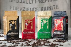 Caffè Hausbrandt macinato, Hausbrandt ground coffee