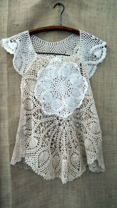 Storyville Lace Pinafore from Bayou Salvage