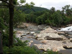 Salmon Falls in Shelburne Falls, MA