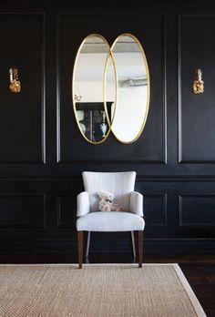 Ebony walls....so sexy.  Hikia Dixon onto Ebonized Furniture, Floors, Doors and more....