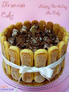 ©Oggi vi cucino così!: Torta al Tiramisù | Re-Cake