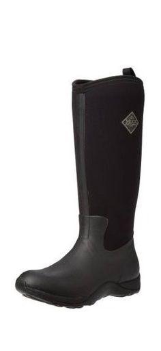 Muck Boot Arctic Adventure Waterproof Knee-High Rubber Boot BlackW7 US