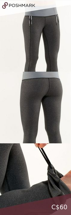 """Lululemon Recognition pants In excellent like new condition. T No tears, stains or pilling. Dot confirmed as seen in picture 7. Mid rise, relaxed fit with cinches at waist and ankles, great for short people like myself :)  Tech specs designed for: yoga fabric(s): luon® properties: four-way stretch, moisture wicking, preshrunk, chafe resistant, breathable rise: medium leg fit: flare inseam: 33 1/2"""" hem sweep: 18 1/2"""" lululemon athletica Pants & Jumpsuits Track Pants & Joggers Lululemon Pants, Lululemon Athletica, Lulu Pants, How To Hem Pants, Plus Fashion, Fashion Tips, Fashion Trends, Cotton Pants, Long Sleeve Tees"""