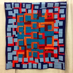 18 Quilts Inspired by The Improv Handbook at QuiltCon | daintytime ~ Sherri Lynn Wood