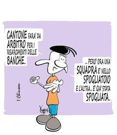 MARIO AIRAGHI: Arbitri, spogliatoi e spogliati...