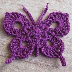 Beauty decor crochet Butterfly uses UK stitche. Butterflies are made with cotton yarn and hook size 2 but to be honest it can be made depends on your need. This pattern is available totaly for free…