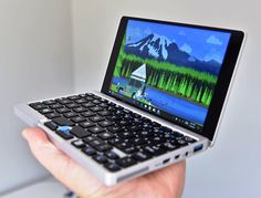 If you thinking to Buy GPD Pocket Mini Laptop Notebook then you should have to Check out New Technology Gadgets, Cool Technology, Computer Technology, Electronics Gadgets, Electronics Projects, Tech Gadgets, Cool Gadgets, Computer Diy, Computer Gadgets