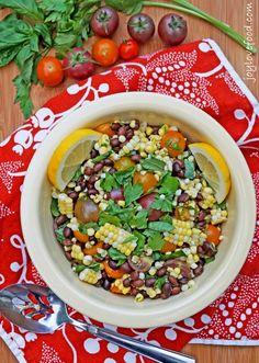 Tomato Corn and Black Bean Salad