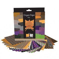 Papier origami halloween 60 feuilles AVENUE MANDARINE : Chez Rentreediscount Loisirs créatifs Stickers, Creative Art, Leaves, Creative Crafts, Decals