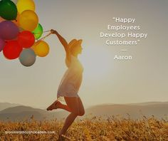 Most leaders understand that their first customers are their employees, and that investing, nurturing, and giving them the right tools and incentives will lead to happier customers and more profitable business. 'Happy Employees Develop Happy Customers.'  #employeesatisfaction #leadershipquotes #happyemployees #happycustomers