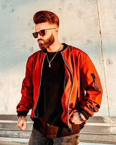 This regular-fit bomber jacket is made of water-resistant elastic cotton blend fabric. Has Mandarin collar and zipper closure. Perfect plain-colored bomber for every hypebeast to rock. Buy Clothes Online, Mandarin Collar, Hypebeast, Size Clothing, Mists, Streetwear, Windbreaker, Bomber Jacket, Closure