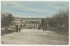 Warsaw, Saxon Garden, 1900.