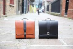 Parka London and fellow UK brand The Leather Satchel Company come together to create two quality leather bags, crafted in their Liverpool workshop. Leather Satchel, Leather Backpack, Uk Brands, My Bags, Parka, Bag Accessories, Classic Style, Backpacks, London