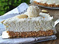 Cheesecake al cocco e nutella ricetta senza cottura fresca e golosa tanto cocco e nutella un'accoppiata vincente fresca e dal sapore esotico