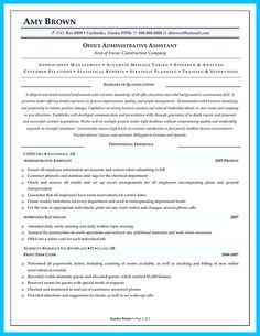AdministrativeAssistantResume  Resume Cv Design