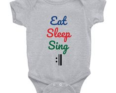 Such a cute onesie for a music lover! Every musical baby needs one of these. Cool gift idea.   # musiconesie #musiconesiesbaaby #musicbabyclothes #musicbabyshowertheme #musicbabyroom #musicbabynursery #musicbabyoutfit #singingbaby