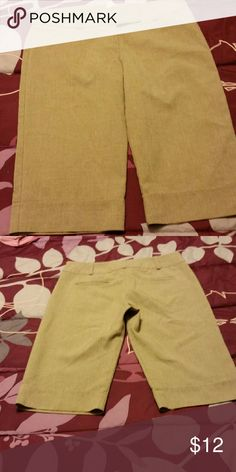 Charlotte Russe tan dress cullottes size 7 These are way cuter on, great if you have to dress up for work Charlotte Russe Pants Capris