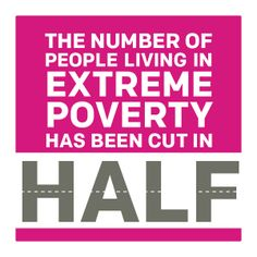 Our progress against extreme poverty. We can end poverty by 2030! #InternationalDayofHappiness.