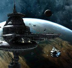 Reich Raumflotte (Space Fleet) cosmoport base