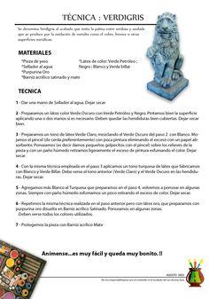 2002/08 - Consejo del Mes - Agosto 2002 - Técnica : Verdigris