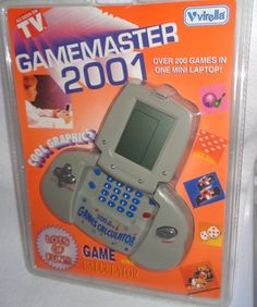 Virella GAMEMASTER 2001 Electronic Game - New and Sealed - Over 200 Games #Virella