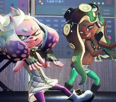 Meet Pearl and Marina from Splatoon 2's newest group 'Off the Hook'