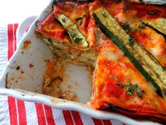 PROUD ITALIAN COOK: Zucchini Lasagne