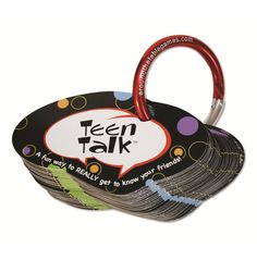 Teen Talk Conversation Game from Continuum Games - http://continuumgames.com