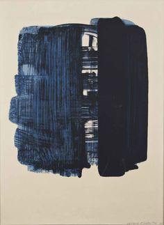3x1:  Composition by Pierre Soulages.