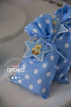 Little star & baby bear baptism party favors! See more party ideas at CatchMyParty.com!