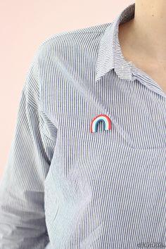 Regenbogen Brosche aus FIMO selber macher - dekotopia | dekotopia