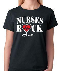 Funny Shirt Sayings, Shirts With Sayings, Funny Shirts, Lpn Nursing, Rock T Shirts, Branded Shirts, Great T Shirts, Shirt Style, Black And Grey