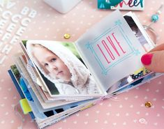Lovely Day 1 Page Mini Album by Bea Valint | Paige Taylor Evans