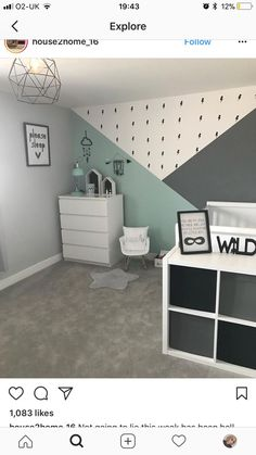 Nursery Decorating Ideas - Baby Room Design For Chic Parent DIY geometrische W. - Nursery Decorating Ideas – Baby Room Design For Chic Parent DIY geometrische W… Nursery Decorating Ideas – Baby Room Design For Chic Parent DIY geometrische Wandmuster – – Baby Boy Rooms, Baby Bedroom, Baby Room Decor, Nursery Room, Bedroom Decor, Bed Room, Nursery Ideas, Room Baby, Kids Rooms
