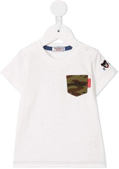 e629c899a Miki House Contrast Patch T-shirt