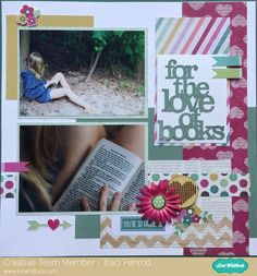 Link-up Party at Lori Whitlock Designs - Artsy Albums Scrapbooking Kits and Custom Designed Scrapbook Albums by Traci Penrod