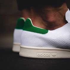 size 40 a56c6 694b3 ADIDAS Stan Smith Primeknit Green Adidas Stan Smith, Adidas Superstar, Nike  Shoes Outlet,