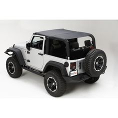 Island Topper, Black Diamond; 07-09 Jeep Wrangler JK - Crawltech Offroad